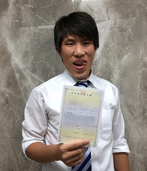 中国 転職先で就労資格証明書を得ました。